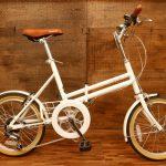 🌞 ブリヂストン マークローザシリーズの折りたたみ自転車 🌞