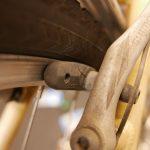 ☁ 経年劣化によるブレーキシューのひび割れ ☁
